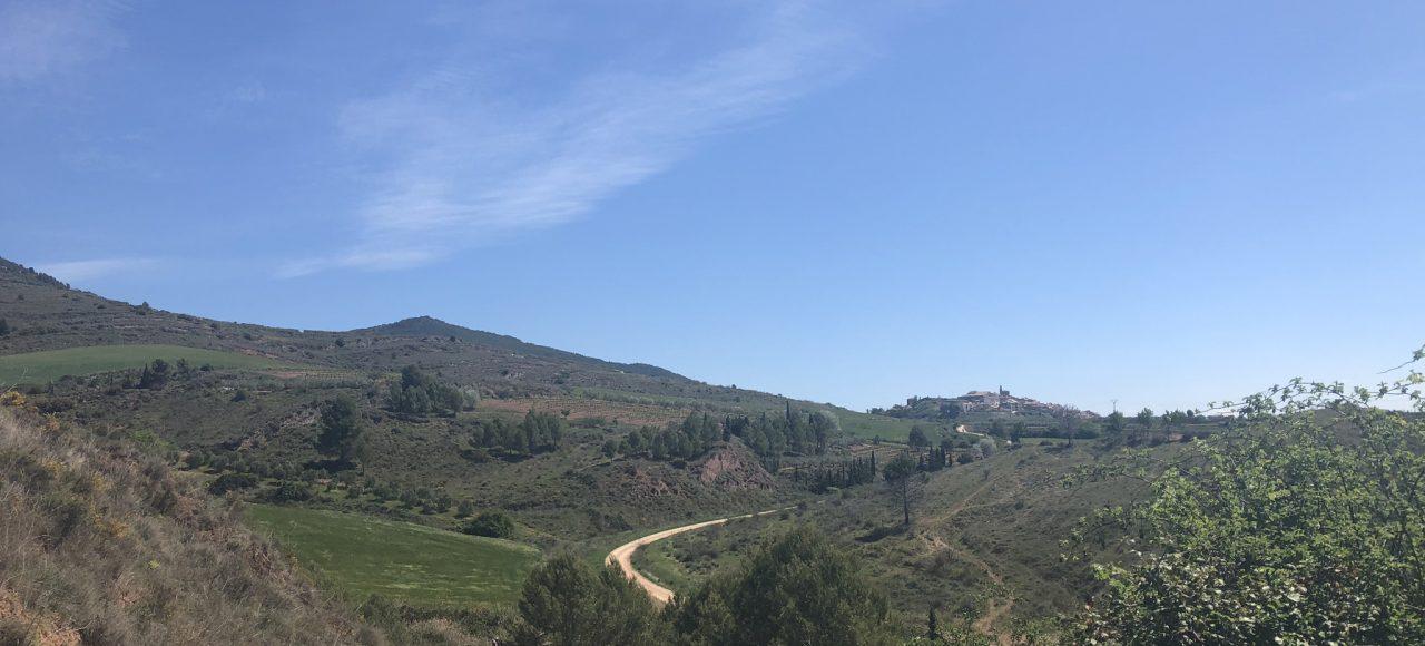 Landschaft am Jakobsweg Camino Frances