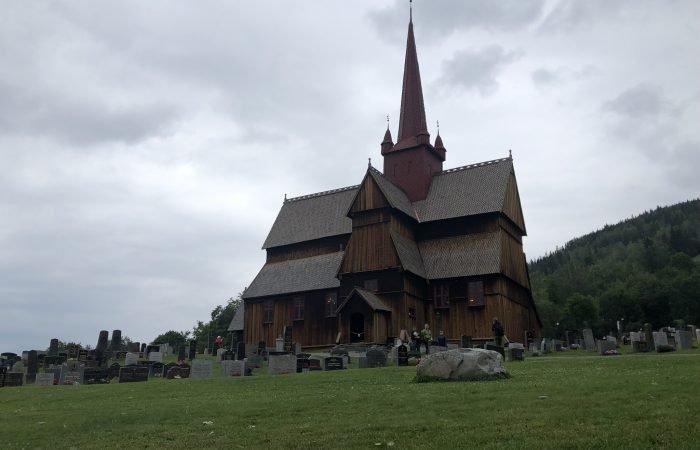 Olavsweg Norwegen Stabkirche Ringebu