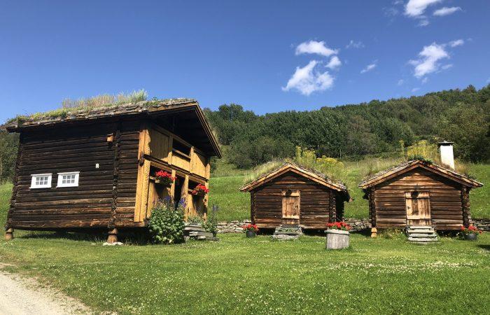 Olavsweg Norwegen Stabburen